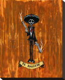 El Bandito Stretched Canvas Print by David Lozeau