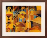Il Giardino del Tempio Prints by Paul Klee