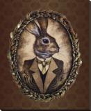 Handsome Jack (le lapin) Reproduction sur toile tendue par  Larkin