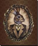 Handsome Jack (le lapin) Reproduction transférée sur toile par  Larkin