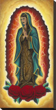 Our Lady is Dead Stretched Canvas Print by Jennifer Dabbs