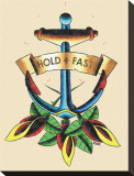Hold Fast Stretched Canvas Print by HEK