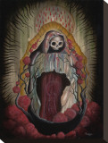 Ghost of Guadalupe Stretched Canvas Print by Jon Hall