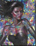 Isabella Stretched Canvas Print by Maya Spielman