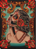 Muerta Stretched Canvas Print by  Lil Chris