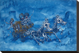 Murrieta's Marauders Stretched Canvas Print by David Lozeau