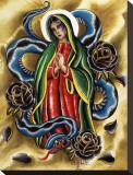 La Virgen Płótno naciągnięte na blejtram - reprodukcja autor Salvador Preciado