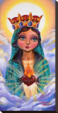 Little Mary Stretched Canvas Print by Manuel Valenzuela