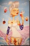 Cupcake Angel Reproduction transférée sur toile par Gabi Spree