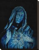 Blue Mary Płótno naciągnięte na blejtram - reprodukcja autor Clark North