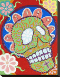 Dead Sombrero Stretched Canvas Print by  Malibloc