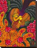 L'envol du phoenix Reproduction transférée sur toile par Wesley Jackson
