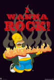 The Simpsons - Wanna Rock Posters