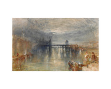 Lucerne by moonlight Giclee Print by Joseph Mallord William Turner