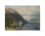 Castle of Chillon Giclee Print by Joseph Mallord William Turner