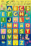 Sponge Bob - Alphabet Poster