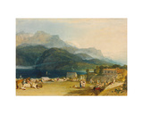 The Lake of Brienz Giclee Print by Joseph Mallord William Turner