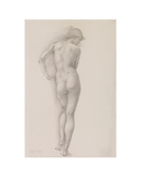 Nude study of Andromeda Giclee Print by Edward Burne-Jones