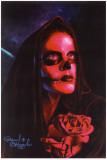 Red Mary Poster von Manuel Valenzuela