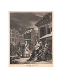 Morning Giclee Print by William Hogarth