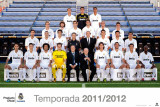 Real Madrid-Team 2011-2012 Prints