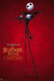 Nightmare Before Christmas - Red Poster