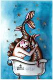 Le bain Affiche par Sus Alonso