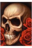 Spider's Skull Poster by  Spider (Artist)