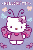 Hello Kitty - Butterfly Poster