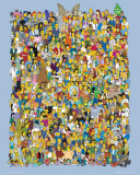 Simpsons-Cast Posters