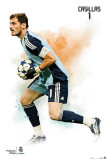 Real Madrid- Iker Casillas Sports Poster Photographie