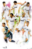 Real Madrid- Group Prints