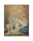 Jacob's Ladder Giclee Print by William Blake