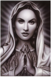 Praying Mary Prints by  Spider (Artist)