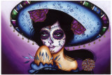 Blue Sombrero Prints by Cat Ashworth