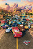 Cars-Town Poster