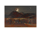 Cornfield by Moonlight Giclee Print by Samuel Palmer