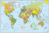 World Map - Spanish Photo