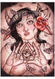 Mnemosyne Medea Poster par Bethannie Newsome Steelman