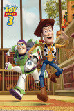 Toy Story 3 - Race! Plakaty