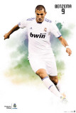 Real Madrid- Benzema Affiches
