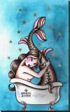 Bath Stretched Canvas Print by Susana Alonso
