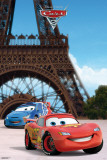 Cars 2 - Eiffel Tower Print