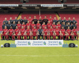 Liverpool-Team Photo 2011-2012 Photographie