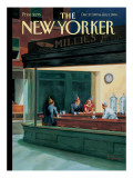 The New Yorker Cover - December 27, 1999 Premium Giclee Print by Owen Smith