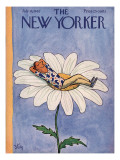 The New Yorker Cover - July 14, 1962 Premium Giclee Print by William Steig