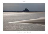Le Mont Saint Michel Print by Philip Plisson