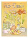 The New Yorker Cover - December 27, 1982 Premium Giclee Print by Jenni Oliver