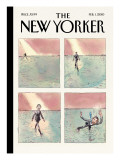 First Anniversary - The New Yorker Cover, February 1, 2010 Premium Giclee Print by Barry Blitt