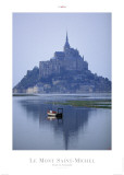 Le Mont Saint Michel Print by Philip Plisson